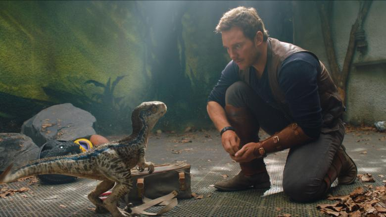 Jurassic World Fallen Kingdom Review My Geek Actu baby blue
