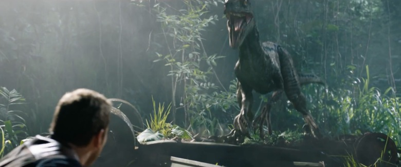 Jurassic World Fallen Kingdom Review My Geek Actu Blue