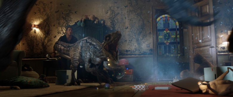 Jurassic World Fallen Kingdom Review My Geek Actu chambre