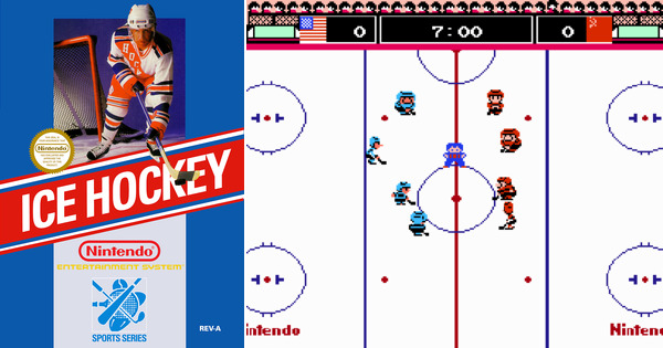 Geek contest Sport Ice Hockey nes game my geek actu